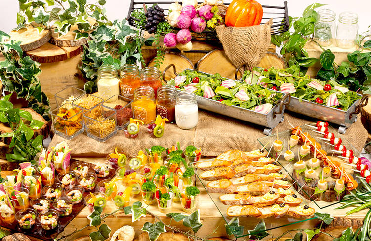 【ロハス&ヘルシー】横浜都筑野菜中心!ネオダイニングの立食スタンダードケータリングプラン画像1
