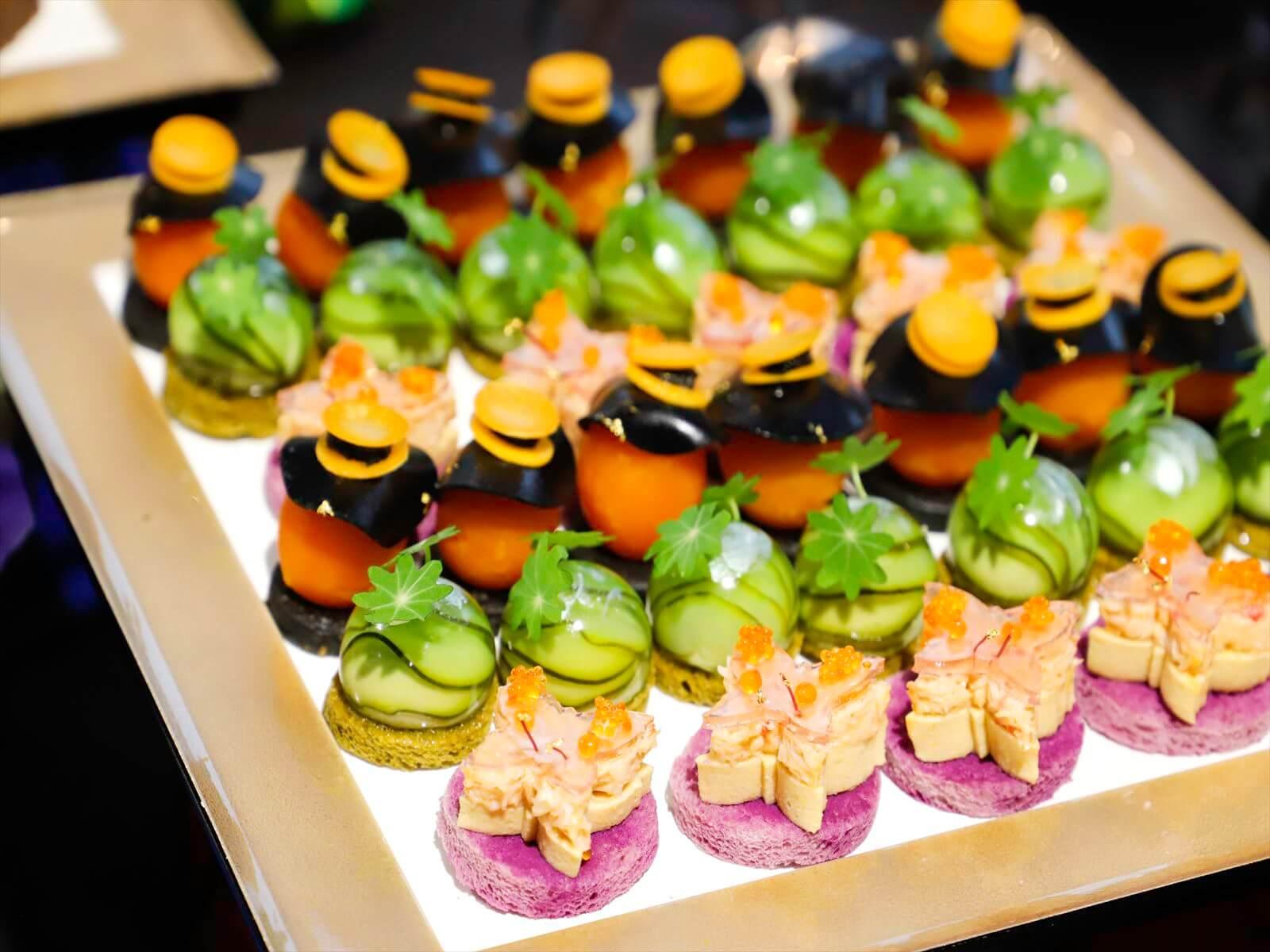 【ボリューム満点】特製創作寿司つき!フォリクラッセの本格パーティー向け豪華ケータリングプラン画像1