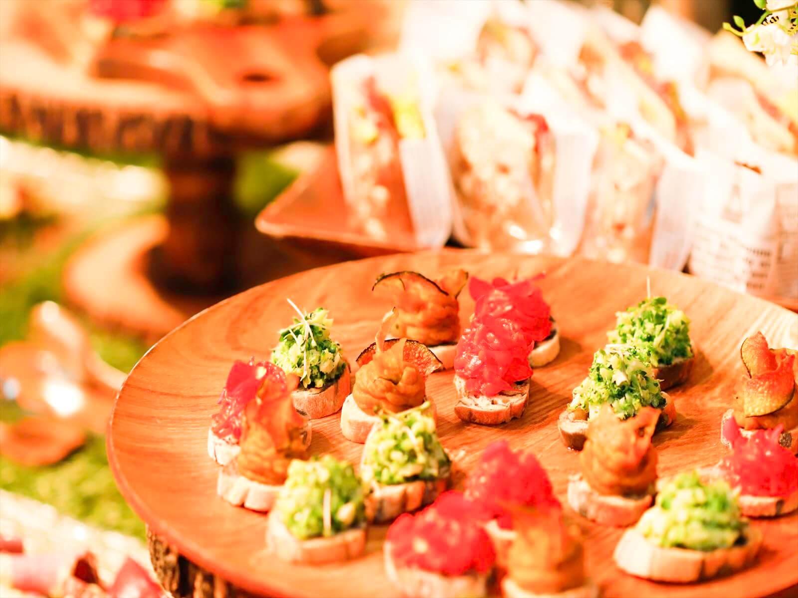 【ボリューム満点】特製創作寿司つき!フォリクラッセの本格パーティー向け豪華ケータリングプラン画像2