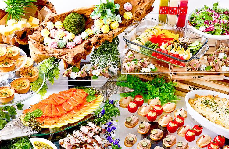 【ビュッフェ・立食】フィンガーフード中心!釜津田の立食スタンダードケータリングプラン画像1