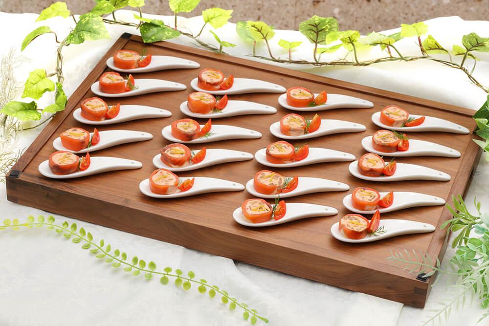 【ラグジュアリー】ハモンセラーノ原木サーブ!アキトの本格パーティー向け豪華イタリアンプラン画像6