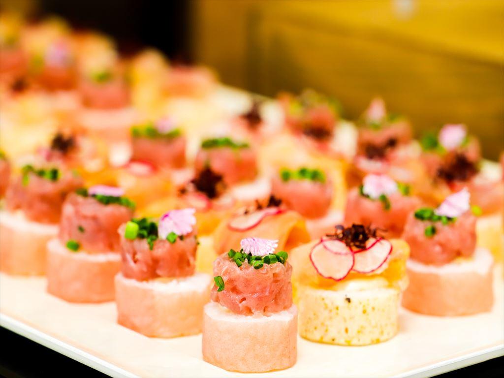 【ラグジュアリー】特製創作寿司つき!フォリクラッセの本格パーティー向け豪華ケータリングプラン画像0
