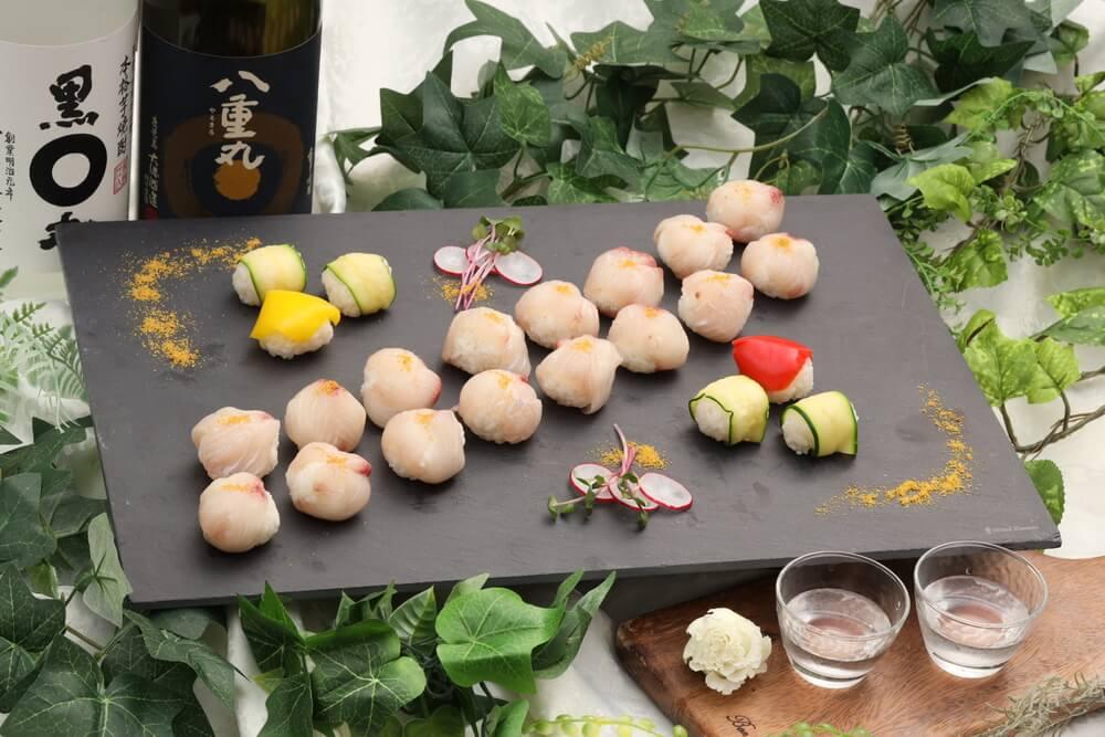 【現地調理】ハモンセラーノ原木サーブ!アキトの立食スタンダードケータリングプラン画像8