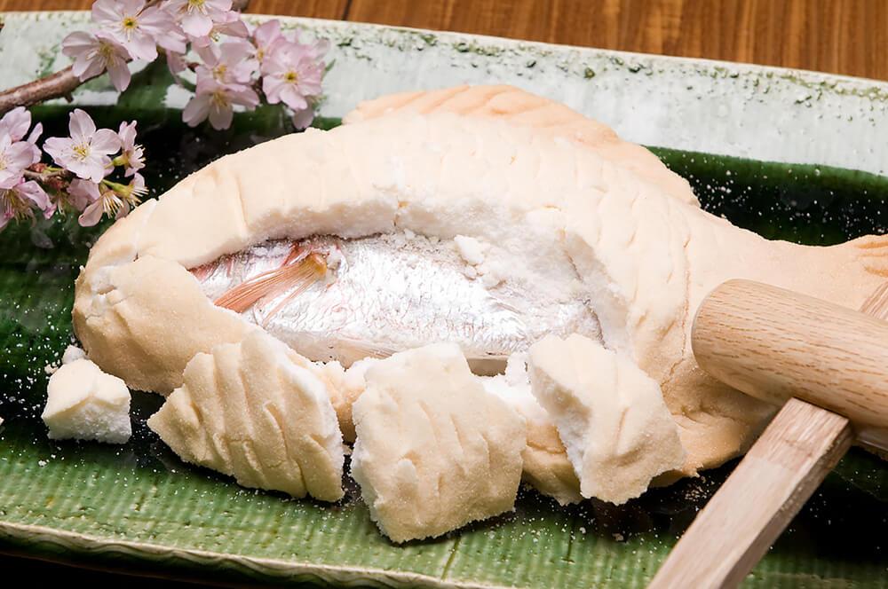 【ビュッフェ・立食】丸ごと鯛つき!ベリーベリーの新年会向けケータリングプラン画像0