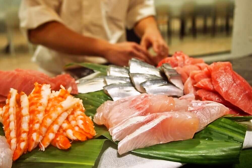 【出張料理】その場で握る本格鮨4貫!英多郎寿司の立食お手軽ケータリングプラン画像6