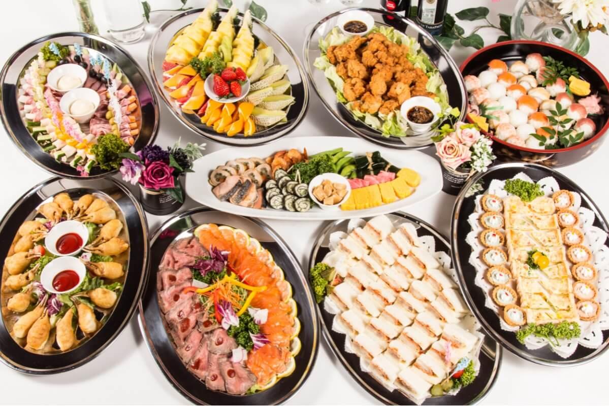 【飲み放題つき】手毬寿司つき!ベリーベリーの謝恩会向けケータリングプラン画像3
