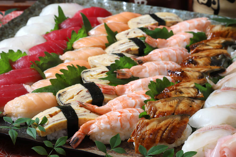 【ビュッフェ・立食】寿司つき!南喜久の立食お手軽ケータリングプラン画像0