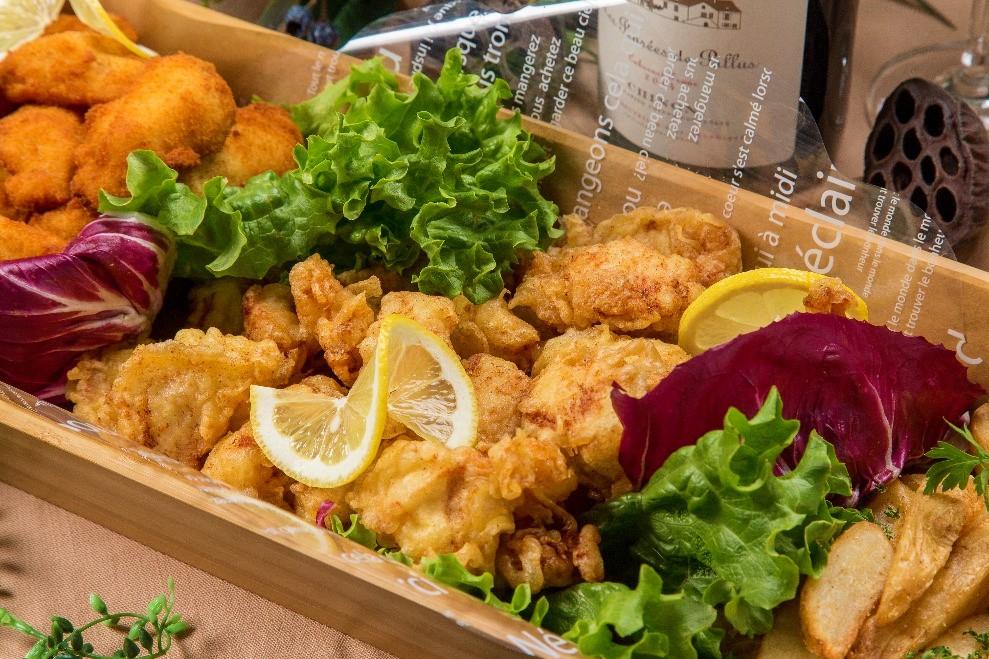 【ロハス&ヘルシー】新鮮魚介のパエリアと有機野菜のフレンチケータリング画像5