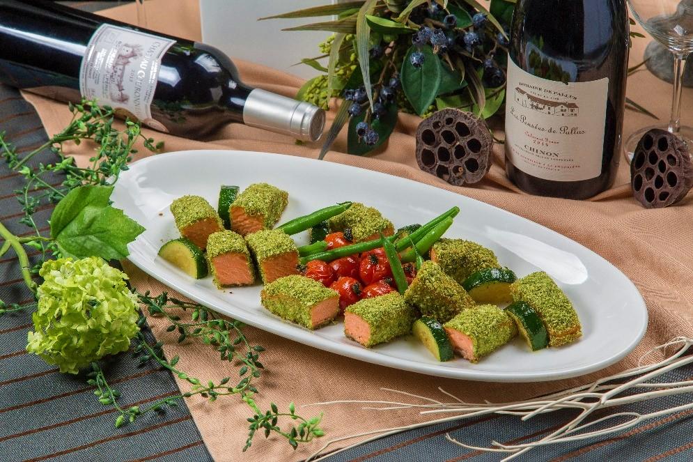 【ロハス&ヘルシー】新鮮魚介のパエリアと有機野菜のフレンチケータリング画像6
