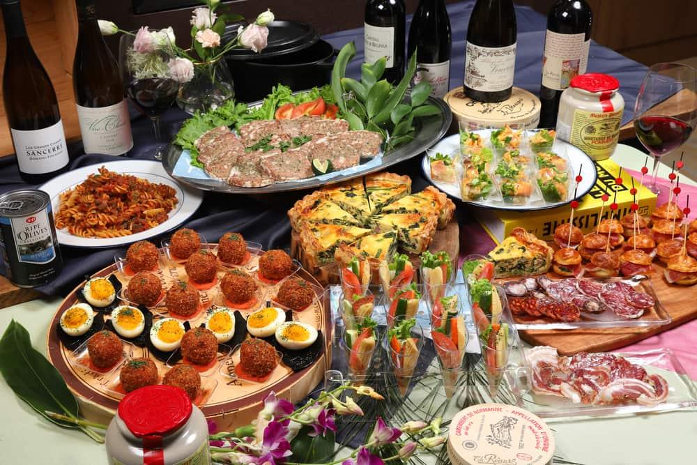 【ビュッフェ・立食】フィンガーフード中心!ロワゾブリュのおつまみ用お手軽ケータリングプラン画像1