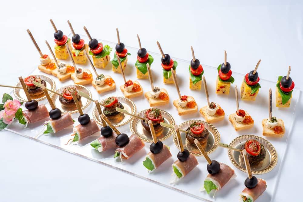 【出張料理】ハモンセラーノつき!ボンリーゾの立食スタンダードケータリングプラン画像3