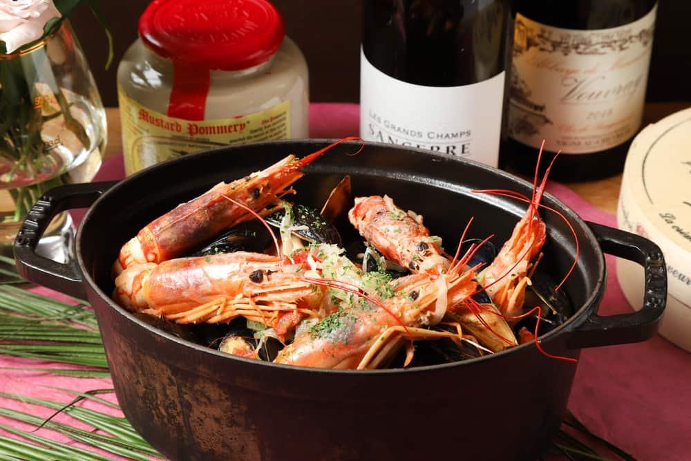 【ラグジュアリー】ムール貝と赤海老つき!ロワゾブリュの本格パーティー向け豪華ケータリングプラン画像0