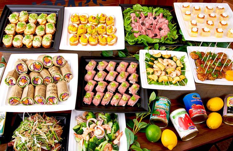 【ボリューム満点】肉寿司つき!サーカスケータリングの謝恩会向けオードブルプラン画像1