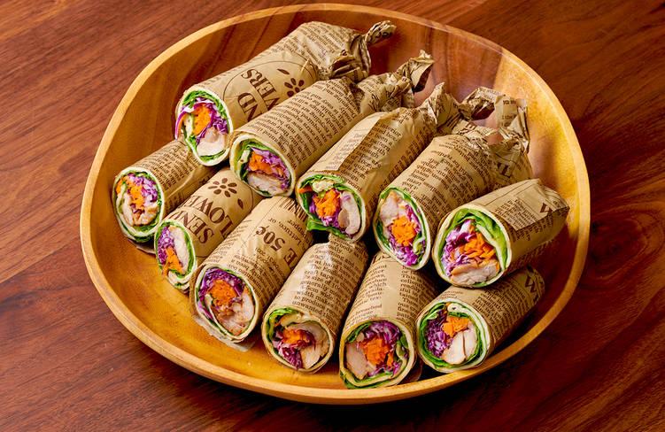 【ボリューム満点】肉寿司つき!サーカスケータリングの謝恩会向けオードブルプラン画像5