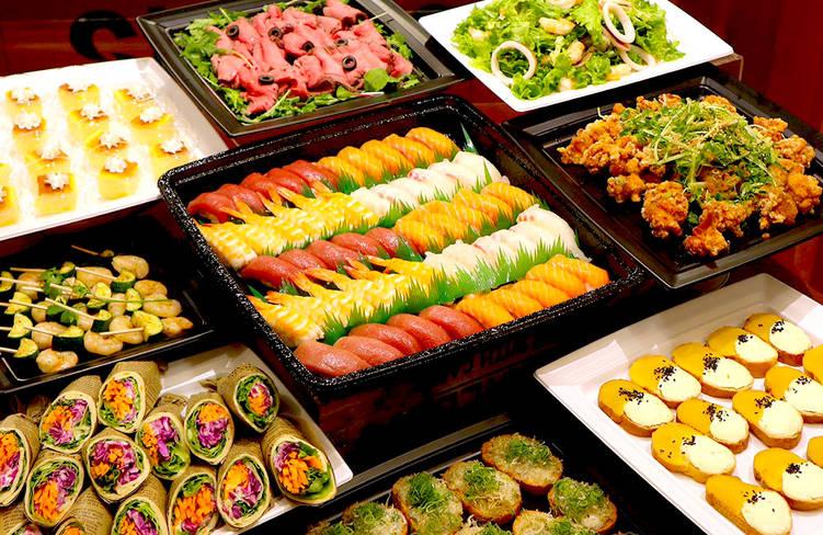 【ボリューム満点】握り寿司つき!サーカスケータリングの謝恩会向けオードブルプラン画像1
