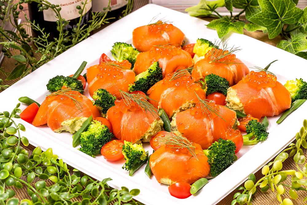 【インスタ映え】フレンチちらし寿司つき!立食スタンダード創作フレンチオードブルプラン画像5