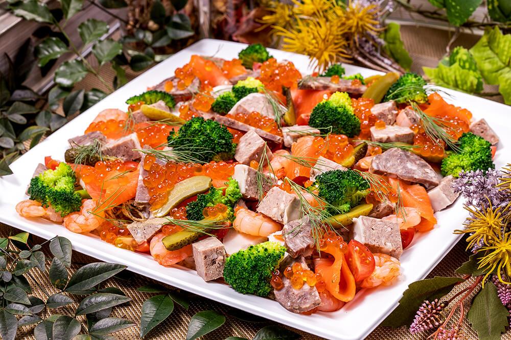 【インスタ映え】フレンチちらし寿司つき!立食スタンダード創作フレンチオードブルプラン画像0