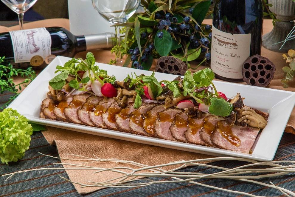 【ラグジュアリー】牛ほほ肉の赤ワイン煮込みと手毬寿司の豪華ケータリングプラン画像3