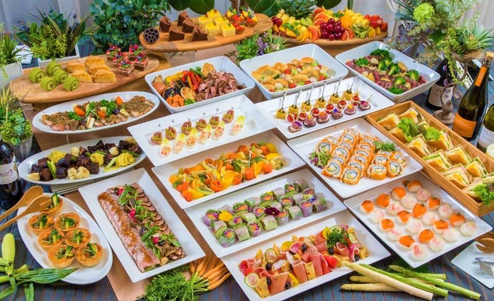 【ラグジュアリー】牛ほほ肉の赤ワイン煮込みと手毬寿司の豪華ケータリングプラン画像1