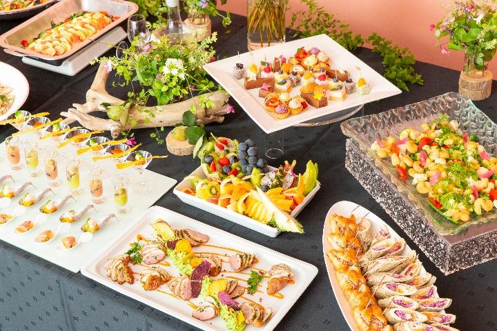 【ビュッフェ・立食】茄子と松の実のカポナータ付き!コルドンブルーのスタンダードフィンガーフード画像1