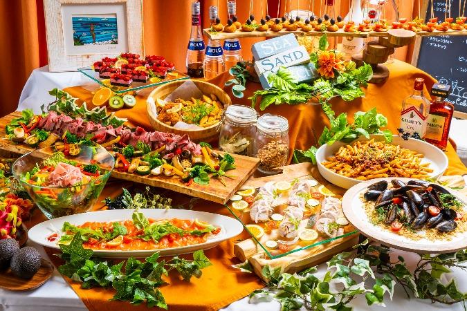 【ビュッフェ】牛肉のタリアータ付全12品!パーティ向けお手軽イタリアンプラン画像1