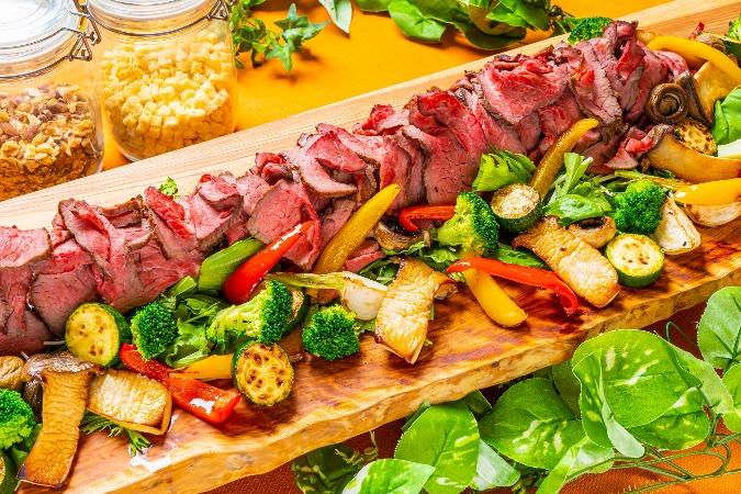 【ビュッフェ】牛肉のタリアータ付全12品!パーティ向けお手軽イタリアンプラン画像0