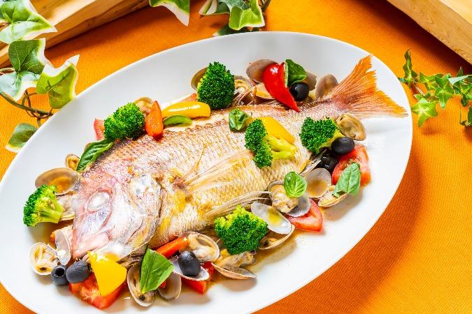 【ビュッフェ】鮮魚のアクアパッツァ付の全15品!社内イベント向けケータリングプラン画像0