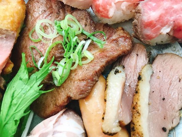 【小分け盛りプレート】和牛の肉寿司付!ネオダイニングの小分け盛りオードブルプレートプラン画像2