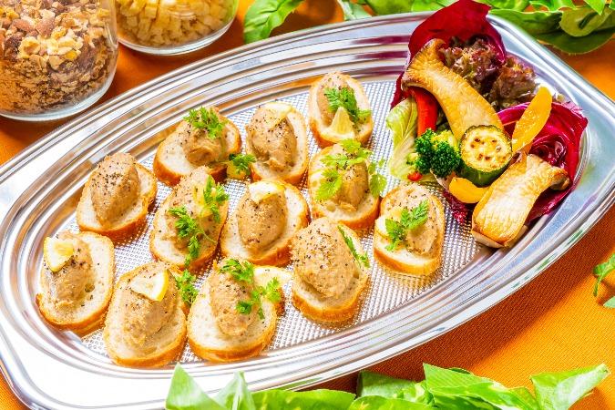 【インスタ映え】地鶏のガランティーヌ付の全12品!歓送迎会向けオードブル画像4