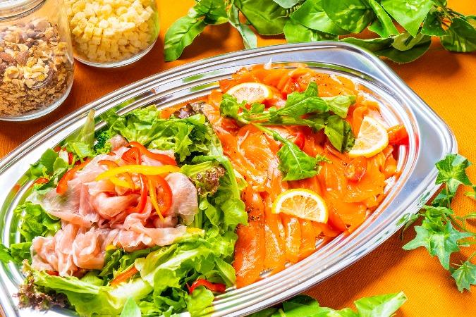 【インスタ映え】牛肉のタリアータ付の全10品!TOKYOCATERINGLINKのお手軽オードブル画像2