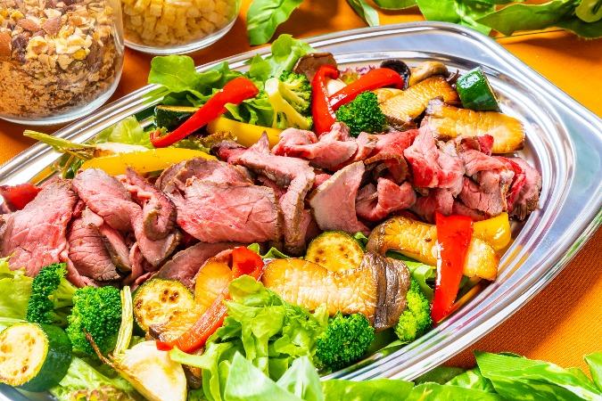 【インスタ映え】牛肉のタリアータ付の全10品!TOKYOCATERINGLINKのお手軽オードブル画像0