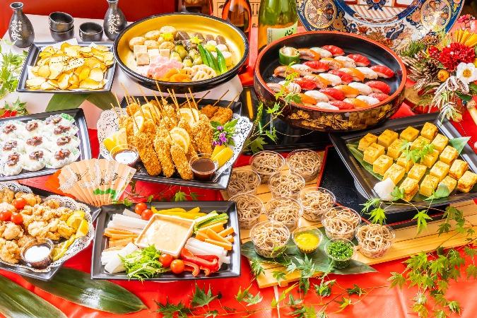 【和風割烹】江戸前握り寿司付の全9品。四季膳みやのお手軽オードブルプラン画像0