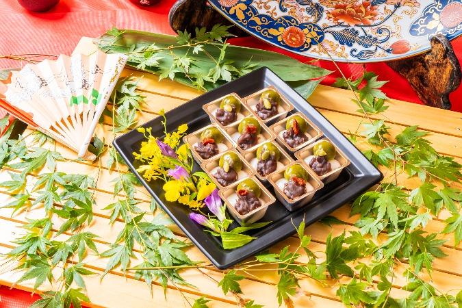 【個別包装】彩りちらし寿司付の全10品。四季膳みやの交流会向け和風オードブルプラン画像6