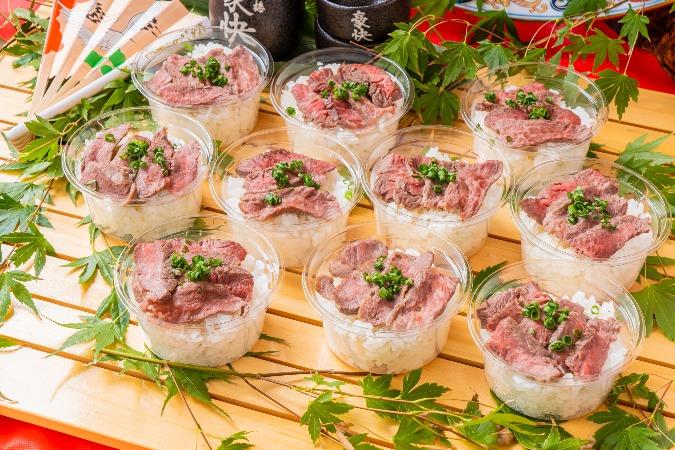 【個別包装】彩りちらし寿司付の全10品。四季膳みやの交流会向け和風オードブルプラン画像8