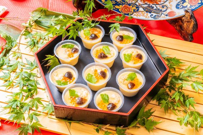 【個別包装】彩りちらし寿司付の全10品。四季膳みやの交流会向け和風オードブルプラン画像2