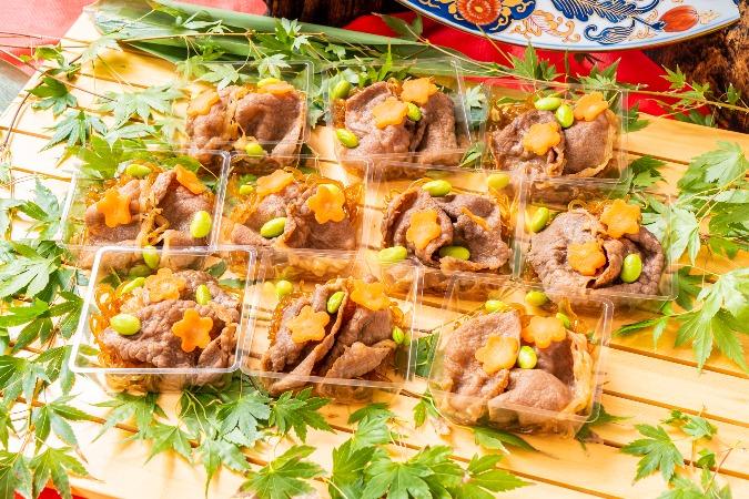 【個別包装】彩りちらし寿司付の全10品。四季膳みやの交流会向け和風オードブルプラン画像4