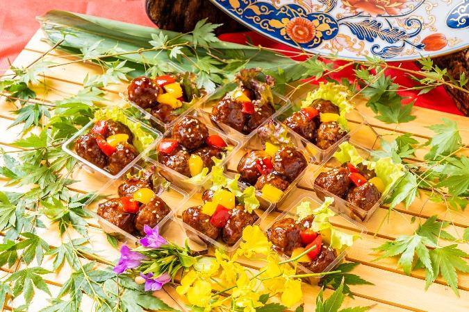 【個別包装】彩りちらし寿司付の全10品。四季膳みやの交流会向け和風オードブルプラン画像5