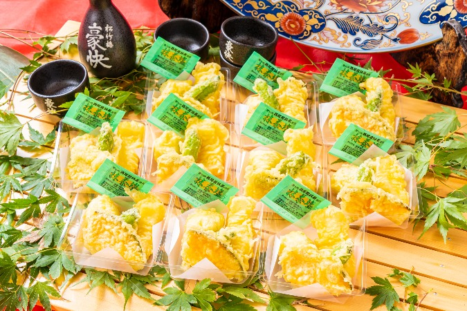 【個別包装】彩りちらし寿司付の全10品。四季膳みやの交流会向け和風オードブルプラン画像9