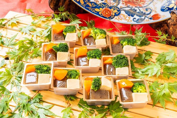 【個別包装】彩りちらし寿司付の全10品。四季膳みやの交流会向け和風オードブルプラン画像10