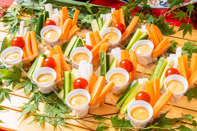 【個別包装】彩りちらし寿司付の全10品。四季膳みやの交流会向け和風オードブルプラン画像3