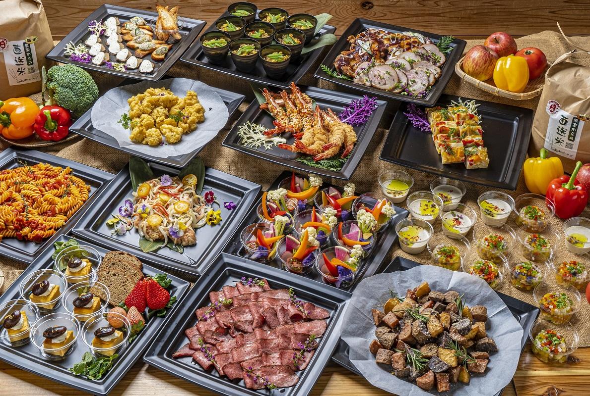 【インスタ映え】旬野菜たっぷりヘルシーオードブルスペシャルプラン画像0