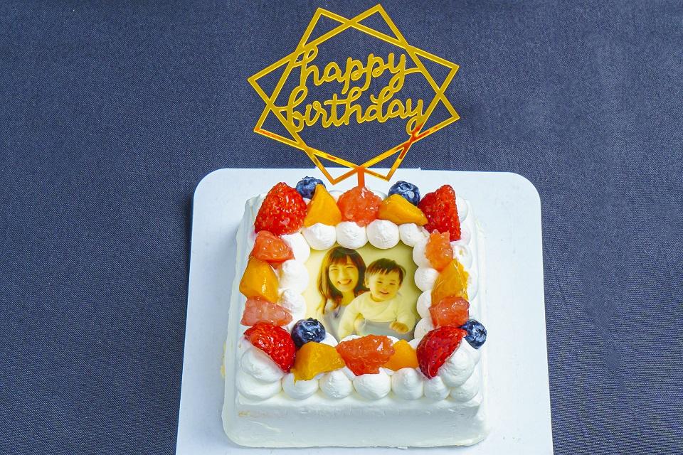 祝い〜写真オーダーケーキ付き画像9