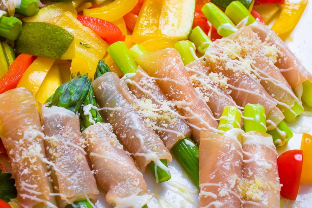 【飲み放題つき】上江戸前寿司つき!ケータリングオリハラの立食向けスタンダードケータリングプラン画像3