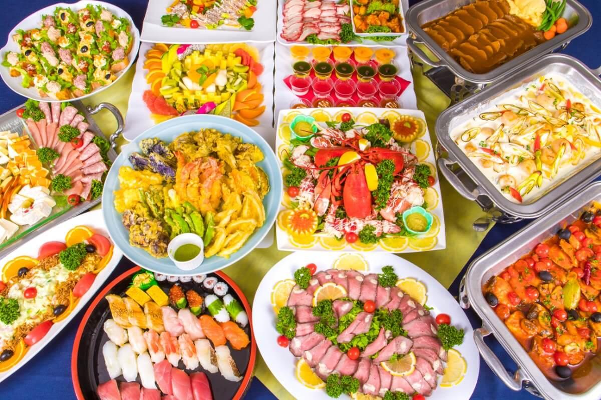 【飲み放題つき】特上江戸前寿司つき!ケータリングオリハラの本格パーティー向け豪華ケータリングプラン画像2