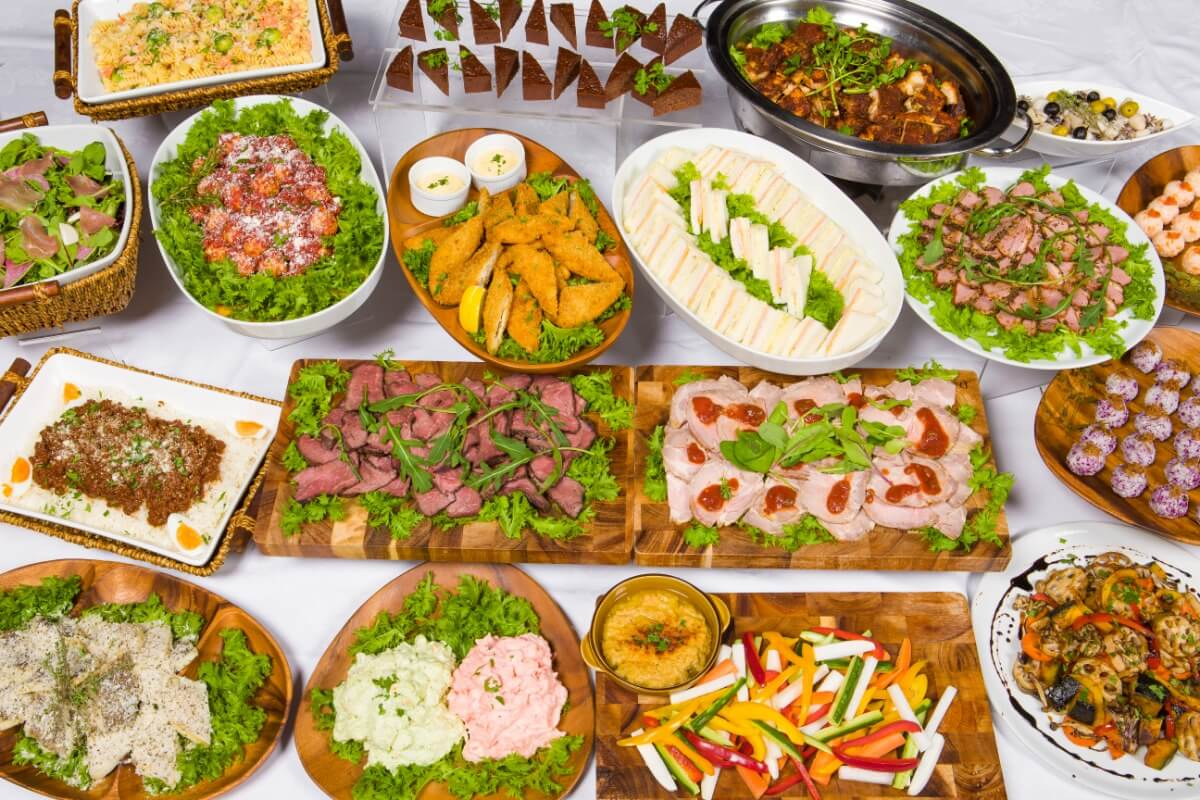 【ビュッフェ・立食】お肉中心!シアターの立食スタンダードケータリングプラン画像0