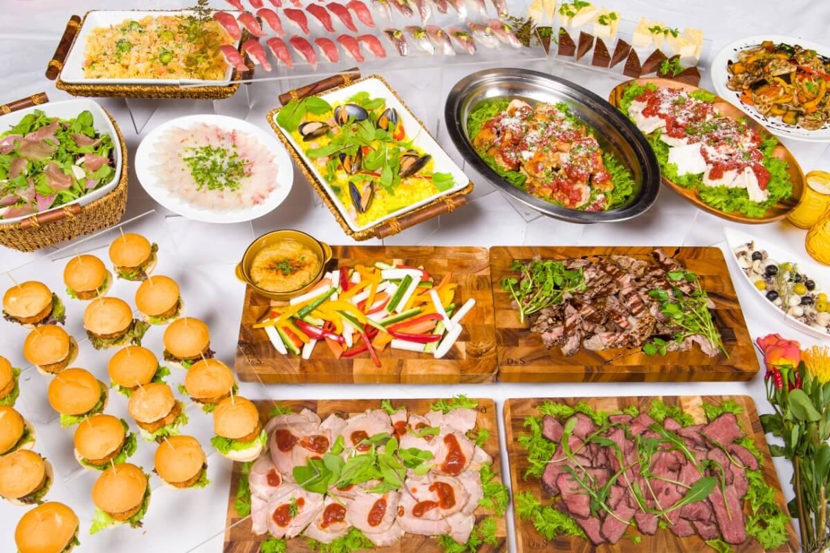 【ボリューム満点】厳選握り寿司つき!シアターの本格パーティー向け豪華ケータリングプラン画像2