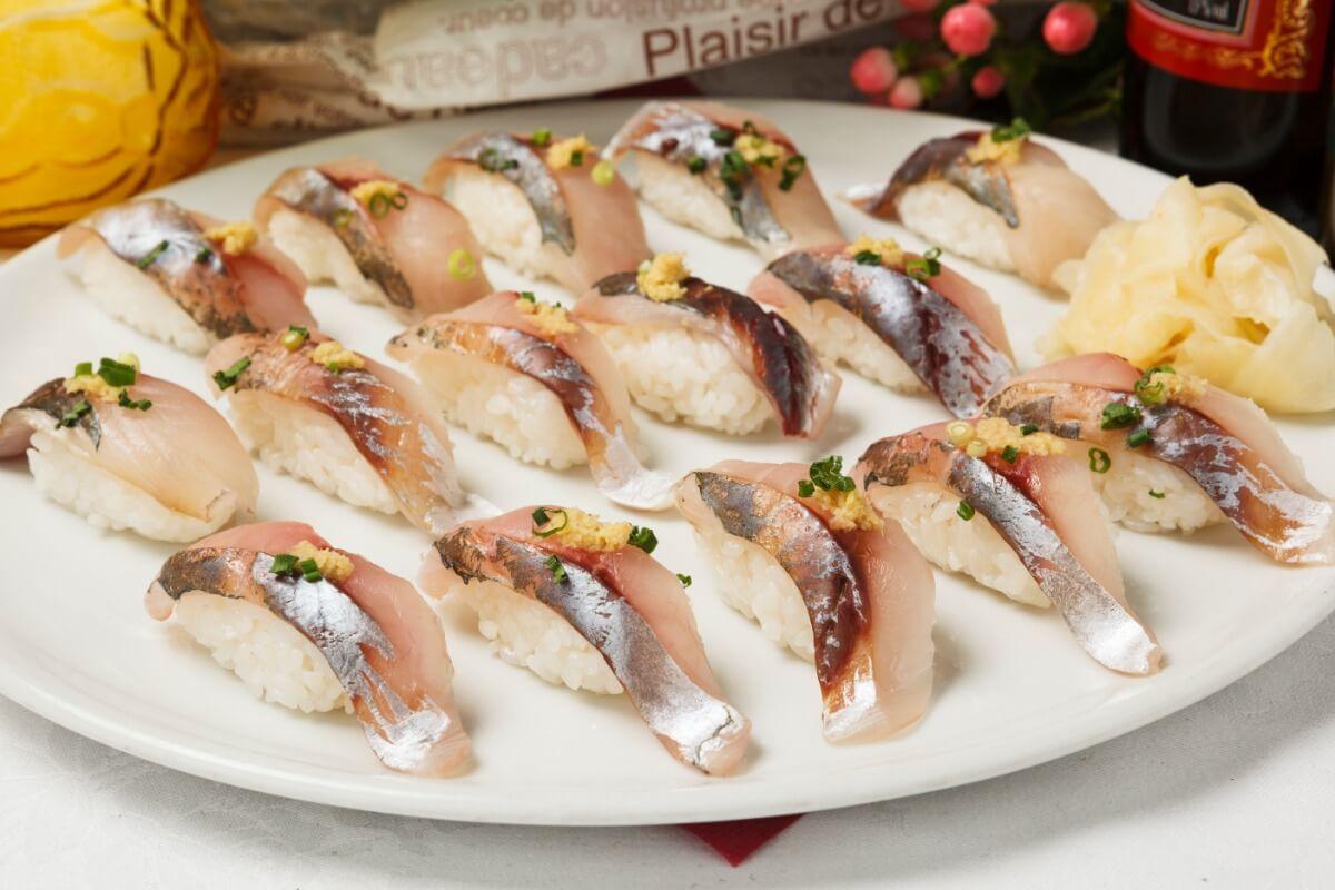 【ボリューム満点】厳選握り寿司つき!シアターの本格パーティー向け豪華ケータリングプラン画像1