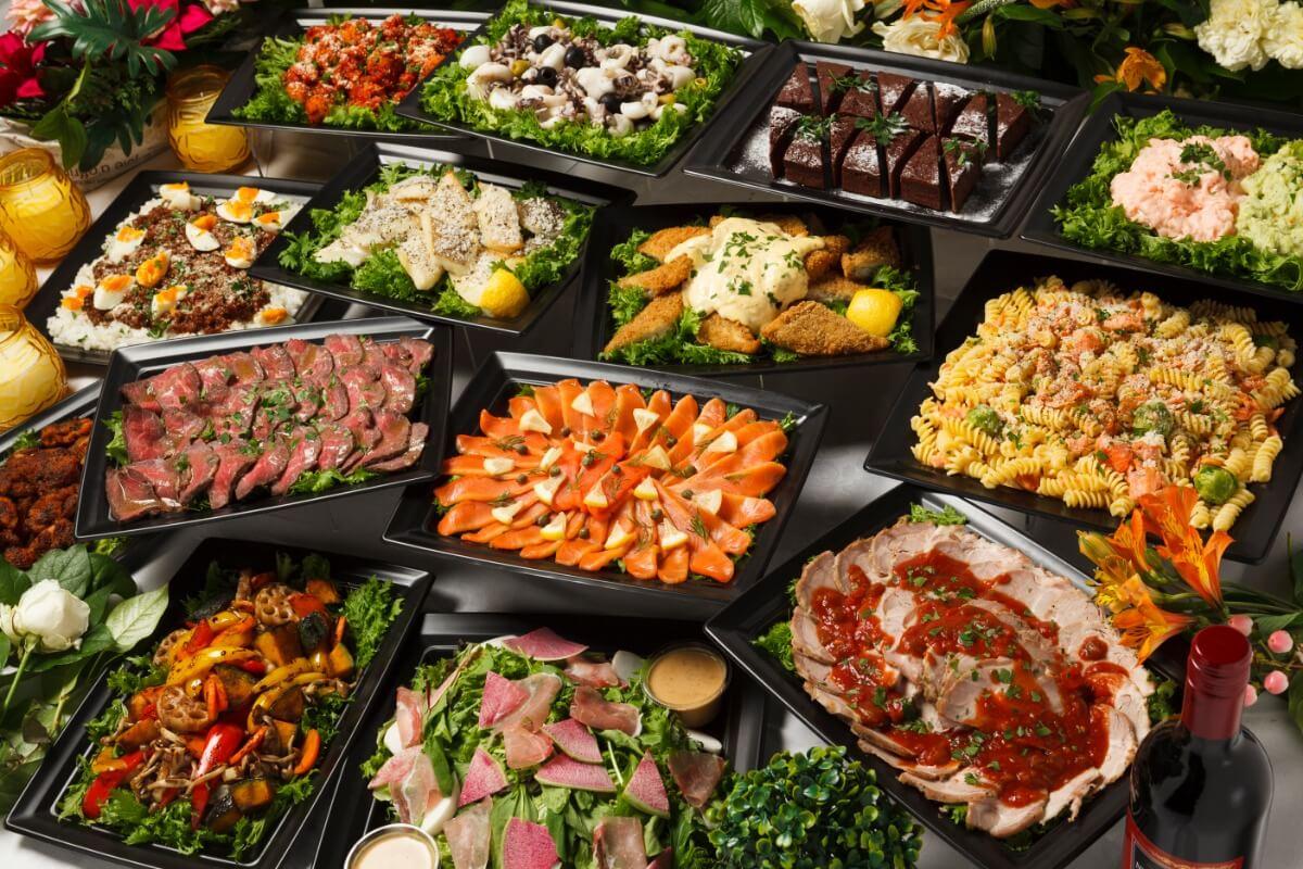 【ビュッフェ・立食】フィンガーフード中心!シアターの立食スタンダードオードブルプラン画像0