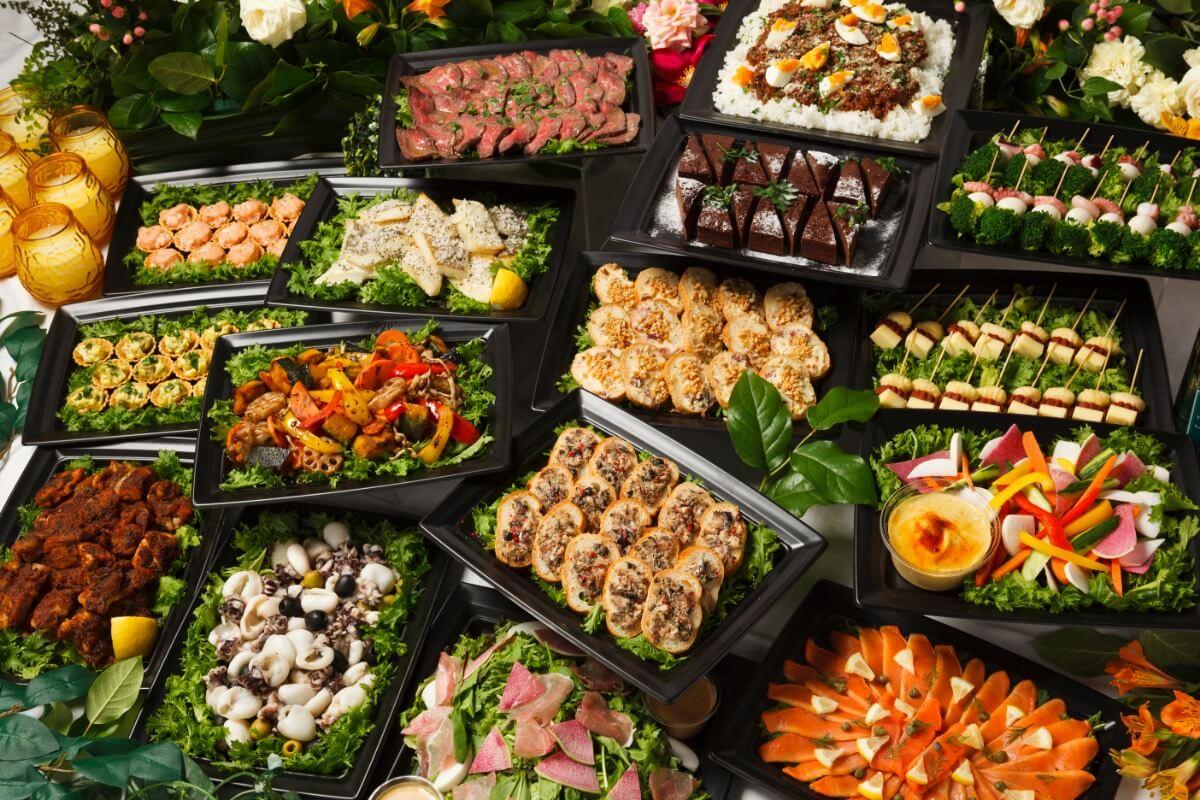 【ボリューム満点】お肉中心!シアターの立食スタンダードオードブルプラン画像2