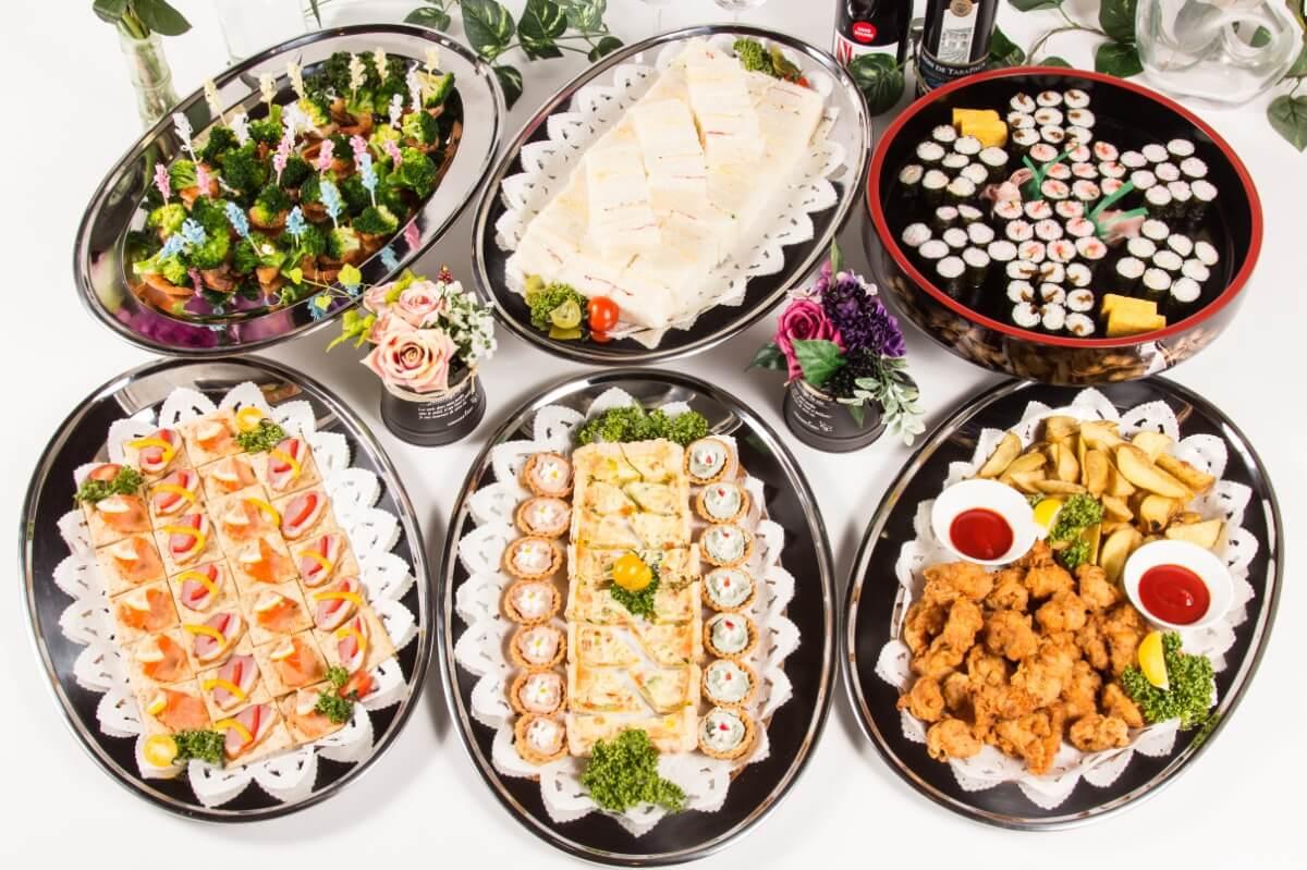 【ビュッフェ・立食】細巻き寿司つき!ベリーベリーの立食お手軽ケータリングプラン画像2